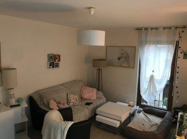 F3 67 m² Plesnois. Dans un village calme à 10 min de METZ avec accès rapide A4/A31, charmant F3 de 67 m²  avec terrasse privative, comprenant une entrée, séjour, cuisine séparée aménagée, deux chambres, une salle de douche, WC séparé. Stationnement à proximité immédiate. <br/>Libre mi-Décembre 2019