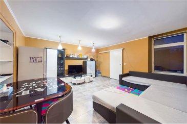 Veuillez contacter Qiqi Zhou pour de plus amples informations : - T : +352 661 570 297 - E : qiqi.zhou@remax.lu  La visite virtuelle à votre disposition :  https://premium.giraffe360.com/remax-select/55740d0aaf6946beaa2649a7769b2f7d/  RE/MAX, Spécialiste de l'immobilier à Esch-sur-Alzette, vous propose, à la vente, cet appartement duplex dans une résidence de 3 étages. Il est situé au 2ème et 3ème étage (sans ascenseur).  L'appartement d'une surface d'environ 128 m² vendu en 2 étages comme suit :  1er étage (70,68 m²) : - Un hall d'entrée - Deux chambres à coucher - Un grand séjour  - Une cuisine fermée - Une salle de bain, dont une baignoire, une douche et un W.C.  2ème étage (57,89 m²) : - Deux chambres - Un salon avec coin cuisine - Une salle de douche avec W.C.  Proche de toutes les commodités (bus, train, restaurants, pharmacie...)  Frais d'agence RE/MAX et TVA à charge de la partie venderesse. Toute offre sera soumise à l'acceptation expresse des vendeurs.  ---  Please contact Qiqi Zhou for further information via phone: +352 661 570 297 or email: qiqi.zhou@remax.lu.  The virtual tour:  https://premium.giraffe360.com/remax-select/55740d0aaf6946beaa2649a7769b2f7d/  RE/MAX, the Real estate specialist in Esch-sur-Alzette, offers this duplex flat in a residence of 3 floors for sale. It is located on the 2nd and 3rd floor (without lift).  The flat has a surface area of approximately 128sqm and is sold in 2 floors as follows:  1st floor (70,68sqm): - An entrance hall - Two bedrooms - A large living room  - A closed kitchen - A bathroom, including a bath, a shower and a toilet.  2nd floor (57,89sqm): - Two bedrooms - A living room with kitchenette - A shower room with W.C.  Close to all amenities (bus, train, restaurants, pharmacy...)  Agency fees RE/MAX and VAT at the expense of the seller. All offers are subject to the express acceptance of the sellers.