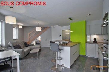 *** SOUS COMPROMIS ***<br><br>Bel appartement-duplex de 2017-2018 sis à Noerdange d\'une surface de 71,30 m2, 2 chambres à coucher et double emplacements parking. (pas de balcon/terrasse ou jardin disponible)<br><br>DESCRIPTION:<br>Etage 1:<br>- hall d\'entrée<br>- WC séparé<br>- cuisine équipée ouverte sur séjour<br><br>Etage 2:<br>- hall de nuit<br>- salle de bain/douche<br>- chambre à coucher I<br>- chambre à coucher II / bureau<br><br>Sous-sol:<br>- double emplacement intérieur <br>- cave<br><br>Les communs:<br>- buanderie<br>- local vélo<br>- local poubelles<br><br>ASPECTS TECHNIQUES:<br>- sols recouverts de parquet et carrelage<br>- toiture recouverte d\'ardoises naturelles/zinc<br>- chauffage urbain (biogaz)<br>- VMC double flux<br>- ascenseur<br>- équipement alarme incendie<br>- châssis double vitrage avec volets électriques<br>- classe énergétique AC<br><br>SITUATION GEOGRAPHIQUE:<br>- 35 minutes de Luxembourg-Ville<br>- 15 minutes de Arlon (B)<br>- 17 minutes de Windhof<br>- 5 Km de Redange<br>- 25 minutes de Ettelbruck<br><br>Pour toutes informations supplémentaires contactez-nous aux numéros suivants:<br>- BUREAU                           +352   27 80 83 56<br>