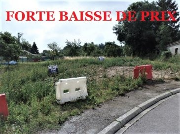 ** FORTE BAISSE DE PRIX **  NOUS VENDONS à OTTONVILLE (Moselle),  A proximité immédiate de la ville de BOULAY-MOSELLE, de ses commerces et services, non loin également de l'accès à l'autoroute A4 (Metz-Strasbourg), et à moins d'une demi-heure de METZ ; Un terrain à bâtir d'une superficie de 5,95 ares, cadastré Section 1, parcelle 206. Ce terrain est viabilisé, il est plat et d'une largeur sur rue de 16 m environ. Situé au cœur du village, il est libre de construction.  CONTACT : Jean-Luc MEYER  Agent commercial Au : 07 60 13 78 96 Ou directement l'agence  Au : 03 87 36 12 24  Les frais d'agence sont inclus dans le prix annoncé.