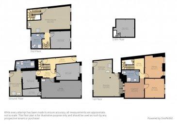Faire une visite virtuel copier ce link!  https://premium.giraffe360.com/remax-partners-luxembourg/87f206ed9e2941f19d39a03067481e1b/  RE/MAX, spécialiste de l\'immobilier à Dudelange vous propose en exclusivité à la vente cette belle maison dans le quartier SCHMELZ.  Elle dispose d\'une superficie habitable d\'environ 249 m² pour 312 m² au total. Cette maison complètement rénovée il y a 5 ans. (La maison peut être divise en un appartement de 100m² et un appartement de 67m² ou 80m² avec mezzanine)  La maison se compose au rez-de-chaussée par un garage intérieur d\'env. 33m² pour deux voitures, 1 emplacement extérieur et une pièce de 17m² : hall d\'entrée qui donne vers le garage et vers une partie avec une pièce d\'env. 12m², une salle de douche d\'env. 6m² et d\'une cuisine équipée séparée d\'env. 12m² avec accès par un escalier à une terrasse privative 45m².  Au premier étage, un appartement de 102m²: un hall d\'entrée, une chambre d\'env. 16m², la deuxième chambre d\'env. 16m², une salle de douche d\'env. 9m², un séjour d\'env. 17m², d\'une cuisine équipée ouverte vers une immense salle à manger d\'env. 40m² et donne accès par un escalier à une terrasse privative de 45m².  Au deuxième étage, un appartement de 67m² ou 80m² avec mezzanine compris : d\'un séjour/salle à manger avec cuisine ouverte et équipée d\'env. 43m², une salle de douche d\'env. 8 m², une chambre d\'env. 16m² et une mezzanine d\'env. 13m² avec la deuxième chambre ou un bureau.  Au sous-sol : une cave d\'env. 30m²  Extérieur : Deux terrasses privatives d\'env. 45 m² situées à l\'arrière de la maison.  Caractéristiques supplémentaires : totalement rénovée en 2015, dalles en béton, façade rénovée avec isolation, nouvelles fenêtres, électricité totalement refaite, nouvelle porte garage électrique.  - Toit : Refait en 2010 - Chauffage : Gaz (2005) - Rez-de-chaussée garage, 3 pièces et une salle de douche - Premier étage un appartement  avec 2 chambre, 1 salle de douche, cuisine équipe, terrasse - Deux