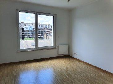 Situé à Gasperich, cet appartement non meublé, d'une surface habitable de ±57m², est situé au 3e étage d'une nouvelle résidence construite en 2020, avec ascenseur. Il est composé comme suit :   Un hall d'entrée de ±3m² donnant accès à un grand séjour de ±23m² avec baies vitrées donnant sur un balcon de ±5m² orienté ouest, d'une cuisine de ±7m² équipée, comprenant un lave-vaisselle, une cuisinière à induction ; une chambre de ±15m² avec parquet au sol ; une salle de douche de ±6m² avec lavabo, douche, wc et rangements.  La buanderie, le local vélo commun, le local poubelles, se situent au rez-de-chaussée.   Au sous-sol, la cave de ±3m² est en suite de l'emplacement de parking.  Le bien est à proximité immédiate de toutes commodités comme le centre commercial Cloche d'Or et est desservi par les transports en commun.  Loyer: 1690- € / Charges: 160- € / Garantie locative:  2 mois de loyer  Agent responsable : Pierre-Yves Béchet Tél: +352 621 654 086 @: Pierre-Yves@Vanmaurits.lu