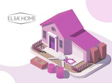 Maison de rangée située à quelques pas du centre et proche de toutes commodités.<br><br>Vous y trouverez un hall d\'entrée, une cuisine équipée ouverte sur le séjour donnant accès à la terrasse, 3 chambres à coucher, une salle de bains, WC séparé, cave et buanderie.<br><br>Pas de garage et jardin !!<br><br>Quelques travaux de rafraîchissement sont à prévoir.<br><br>Pour toutes questions ou demandes d\'informations, n\'hésitez pas à nous contacter, nous serons toujours à votre service.<br><br>Agence ELSA\'HOME à votre écoute pour la concrétisation de vos projets en toute confiance.<br><br>