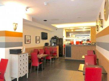 Fond de Commerce à VENDRE. <br><br>Immo Nordstrooss vous propose en exclusivité ce joli restaurant de /-90 m2 à Luxembourg ville.<br><br>L\'établissement, actif depuis 35 ans, peut compter sur la fidélité de ses nombreux clients. En parfait état d\'entretien entièrement équipé et meublé. <br>- La brasserie/Restaurant <br>- La terrasse extérieure <br>- Bar <br>- Cuisine professionnelle équipée <br>- Local sanitaire <br>- Stockage / réserve <br>- Le loyer est de 2 500 EUR/mois hors charges.<br><br>Pour plus de renseignements ou une visite, veuillez nous contacter au 691 238 008.