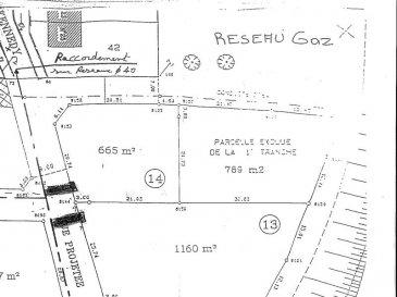HOMÉCOURT Terrain constructible de 14,54 ares avec environ 15 m de façade. Hors lotissement. Avec permis de construire accepté pour projet ci-joint. N'hésitez pas à contacter Serge au 0668707643 pour plus de renseignements.