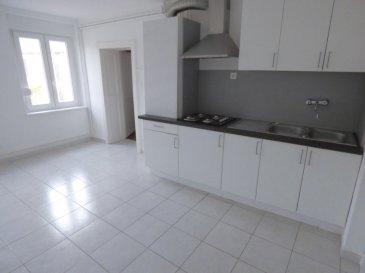 Appartement Fontoy 3 pièce(s) 70m2, 2 chambres. Dans une rue au calme,<br/><br/>Au sein d\'une copropriété de 3 logements et proche de toutes commoditées (écoles et commerces),<br/><br/>Au 1er étage bel F3 comprenant : <br/><br/>- Cuisine équipée indépendante de 15m2, salon séjour d\'environ 20m², 2 chambres parquetées (11 et 15m2), belle salle de bains tout confort avec baignoire, douche et sèche serviette, wc séparé<br/>,buanderie/célier de 8m²<br/><br/>- Dv pvc avec volet roulant neuf, chauffage central au gaz neuf, système électrique aux normes.<br/>parking facile à proximité<br/><br/>FAI charge vendeur<br/><br/>Cridel Julien : 06-83-55-51-42.<br/>Copropriété de 3 lots (Pas de procédure en cours).<br/>Charges annuelles : 1.00 euros.