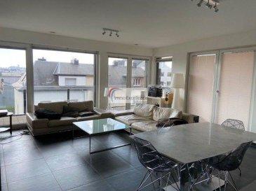Tout nouveau prix !! IMMO EXCELLENCE vous propose ce joli et moderne appartement d\'une surface habitable d\'environ 84 m2. <br><br>L\'appartement se compose comme suit : - Un hall d\'entrée, un grand double séjour, une belle et moderne cuisine équipée avec des appareils de marque SIEMENS, une salle-de-douche, un W.C. séparé, deux chambres-à-coucher, une spacieuse terrasse de 38 m2 orientation sud, sud-ouest, qui contourne l\'appartement, une cave, ainsi qu\'un emplacement couvert. <br><br>Situation calme et à proximité de toutes commodités. <br><br>A seulement quelques minutes du centre-ville de Luxembourg.<br><br>Affaire à saisir.