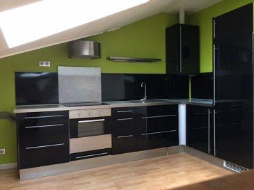 ALT\'IMMOGEST.COM votre agence immobillière vous propose :  Un appartement dans une résidence récente. Idéalement situé à proximité de la gare SNCF et de l\'étang de la ballastière. 3ème étage de type F2 DE 50 m² AU SOL (32 M2 CARREZ HAUTEUR 1,80 m)  Il se composed\'un hall d\'entrée d\'une cuisine meublée et équipée ouverte sur séjour.  Une chambre , une salle d\'eau avec WC En annexe vous disposerez d\'une place de stationnement et d\'une cave.   Chauffage individuel au gaz  L\'appartement est disponible rapidement   Nous vous proposons cet appartement pour un loyer de 500€ et 60€ de charges (T.O.M., entretien chaudière, entretien et électricité des communs) Loyer charges comprises : 560 €  Dépôt de garantie : 500 €  Honoraires de mise en location : 350 € ( A la charge du locataire )  Agence ALT\'IMMOGEST.COM 28 Rue Emile Zola 57300 HAGONDANGE Mme SZYNAL Estelle 0387673413