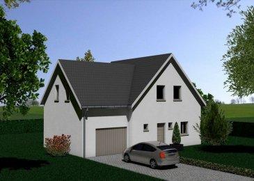 Maison F6 à Hagenthal le Haut .  A l\'extrémité du nouveau lotissement situé sur les hauteurs, en limite de zone constructible avec vue sur les champs, BATIM vous propose cette maison individuelle de type F6 de 120m2, norme RT 2012, sur une parcelle de 552m2. Elle se compose de: une entrée , un salon-séjour avec accès extérieur , un espace cuisine ouvert , 4 chambres dont une suite parentale de 24m2 , une salle de bains , 2 WC. Sous-sol complet, garage au rez-de-chaussée avec porte sectionnelle et accès direct dans la maison. Chaudière au gaz à condensation et eau chaude par pompe à chaleur, toiture traditionnelle. Assurance dommage-ouvrage incluse. Prix de la maison en version PAD (décoration et cuisine non inclus) + terrain: 326 736 euros