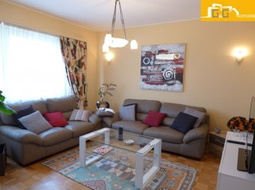 Idéal pour une 1ère acquisition ou pour investisseurs.   Très agréable appartement entièrement meublé et équipé, situé au 2ème étage d'une petite résidence calme à 3 unités, en pleine verdure et impasse dans le quartier résidentiel très prisé à Bonnevoie-Kaltreis.  Ce bien se compose de :   - 1 beau living de 15 m2  - 1 grande cuisine équipée avec accès au balcon de 2.31 m2 - 1 balcon avec un débarras avec vue sur les champs et jardins - 1 chambre à coucher de 13,56 m2 et 1 bureau de 8,50 m2 - 1 salle de douches et 1 WC séparé - 1 buanderie commune  - Location possible dans l'état pour: 1500 € + 170 € charges - Libre de suite  À proximité directe des transports publics, autoroutes, supermarchés, restaurants, écoles,  crèches, piscine municipale, Tennis Club, forêt et champs.  N'attendez plus, contactez-nous par mail sur info@gng.lu ou au 621 366 377.  Découvrez toutes nos offres sur www.gng.lu
