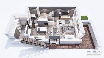 <br>Immo Casa vous propose cette maison en <br>Gros-oeuvre<br><br>(La maison sera vendue dans l\'état ou peut être terminée)<br><br>Les photos/plans 3D sont juste à titre indicatif.<br>la maison peut être vendu aussi clé en main prix sur demande.<br><br>Weidingen à 2 minutes de la ville de Wiltz<br><br>Cette maison dispose de 3 emplacements extérieurs devant la maison, garage pour 2 voitures et une grande cave.<br><br>Salon/living et cuisine ouverte (non fournie) avec sortie pour la terrasse et pour le jardin.<br>WC séparé<br>Débarras<br><br>1er étage vous trouverez 2 chambres à coucher avec de bonnes dimensions avec salle de douche privative dont une avec sortie pour la terrasse et jardin.<br><br>2e  étage une pièce pouvant servir de chambre à coucher avec salle de douche pouvant être divisé en deux chambres à coucher.<br><br>Le tout dans un espace agréable et fonctionnel.<br>N\'hésitez pas à nous contacter pour plus d\'informations ou une visite.<br><br>Nous recherchons en permanence des biens pour la vente.<br>Terrais et maison à démolir, projets approuvés ou à approuver.<br>Nos estimation sont gratuites.