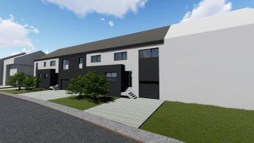 *** Nouveau projet de 4 maisons unifamiliales ***  -FR-  Situé à Bettendorf, dans une rue très calme, à 6 mn de Diekirch. Il se constitue de 4 maisons d'une surface totale d'environ 216 m2 – 281 m2. Toutes les maisons disposent d'une grande terrasse et un jardin (avec abri de jardin)  MAISON LOT 4 d'une surface totale de 281.18.65m2 + terrasse de 43.70m2, se compose comme suit :  Rez-de-chaussée : salon avec cuisine ouverte et salle à manger avec accès sur terrasse et jardin, arrière cuisine, vestiaire, bureau wc séparée et local technique, garage et deux emplacements extérieurs devant la garage.  1er étage : 4 chambres (dont une parentale avec dressing et accès sur une terrasse de 13.5m2), une salle de bain et un wc séparée  2ème étage : grenier aménageable, local technique  Le projet étant encore en phase de construction, diverses modifications peuvent être fait à la demande du client.   Le prix est exprimé à TVA 3%.  Pour plus de renseignements, n'hésitez pas à nous contacter, afin de réaliser ensemble le plan de votre futur projet.  Contact: E-Mail : info@fn-promotion.lu  / GSM: +352 621 139 988  Réf agence : BTNFR LOT 004  *******  -DE-  Sehr ruhige Lage in Bettendorf, 6min von Diekirch entfernt.  Das Projekt besteht aus 4 Einfamilienhäusern mit einer Gesamtfläche von 216m2 – 281 m2. Alle Häuser verfügen über eine Terrasse mit Garten. (mit Gartenhäuschen)  HAUS LOT 3 beinhaltet eine Gesamtfläche von 281.18m2 (einschließlich Garage von 20.48m2), sowie auch einer zusätzlichen Terrasse von 43.70m2 und setzt sich folgend zusammen:  Erdgeschoss: Wohnzimmer mit offener Küche und Essbereich mit Zugang zur Terrasse und Garten, einer Hinterküche, Eingangshalle, Gäste-WC, Technik-Raum, sowie auch eine Garage mit einem Stellplatz und zwei weiteren Stellplätzen vor der Garage.  1. Stockwerk: 4 Schlafzimmer (eins davon mit Dressing und Zugang zur Terrasse von 13.5m2), ein Badezimmer, sowie auch eine separate Toilette  2. Stockwerk: bewohnbares Dachgeschoss, Technik-Raum  Da