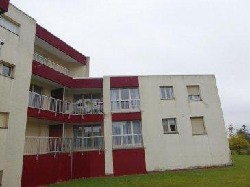 PROCHE JARNY : 40 000 € FAI<br>Dans un cadre verdoyant, appartement comprenant cuisine, pièce à vivre, salle de bain, wc, placard, balcon dans résidence bien entretenue. <br>TEL: 06.150.144.36 <br />Ref agence :2284244