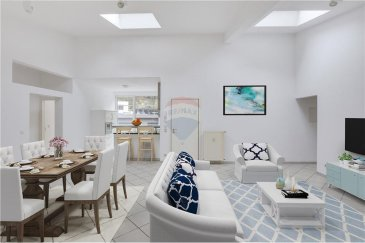 Veuillez contacter Enrico Xillo pour de plus amples informations : - T : 691 117 865 - E : enrico.xillo@remax.lu  RE/MAX, Spécialiste de la vente et de la location à Luxembourg, vous propose, en vente exclusive, dans un quartier très prisé comme celui de Neudorf, un bel appartement / Penthouse de 105,36 m², situé dans une petite résidence bien entretenue, au 3e étage avec ascenseur.  Un grand salon de 48 m² vous accueille avec son grand espace, ayant un grand potentiel d'aménagement et de la luminosité de par ses grandes fenêtres et 2 grands VELUX qui font entrer la lumière naturelle grâce à son exposition du côté sud-ouest.  Ce grand espace à vivre lumineux a vue sur une cuisine ouverte de 10 m², pas trop prétentieuse, mais contenant tous les électroménagers nécessaires pour vos repas journaliers, avec accès à la belle terrasse de 12 m² de ce Penthouse.  Aux deux extrémités du salon, on retrouve les espaces nuit, le premier comporte 2 chambres très lumineuses, de 10 m² et 9 m². Les deux chambres comportent une armoire intégrée ; la plus petite est idéale pour un bureau ou une future chambre pour enfants, elle s'accompagne d'une salle de bain avec baignoire et WC. La deuxième zone de nuit se compose d'une salle de douche avec WC et de la troisième chambre de 11 m² accès à la deuxième terrasse de 12 m² qui occupe l'entière surface de l'arrière de la résidence.  Au sous-sol de cette petite résidence, les futurs acheteurs disposent d'une cave de 5 m² et d'une buanderie en commun. Pour compléter l'offre, vous disposez d'un parking privé.  Il n'y aura pas de travaux à prévoir dans la résidence ni dans l'appartement ; grâce à la composition de l'appartement tous les espaces ont beaucoup de potentiel pour être aménagés selon vos besoins et à votre gout.  Ce penthouse est idéalement situé, car on se trouve à 5 min en voiture et en bus du centre commercial Auchan, du cinéma Utopolis, du quartier de Kirchberg au Nord-Ouest, à 5 min de Clausen à l'Ouest, à 10 min du centre-vil