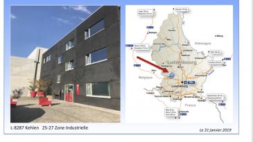 TEMPOCASA STRASSE, vous propose la location des bureaux situés au 2ème étage d'une superficie de 246,00 m2.  Les places parkings sont payables en plus de 50 € / mois / emplacement / plus TVA.  Pour de plus amples renseignements, n'hésitez guère de contacter l'agence.