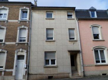 LUXPROIMMO vous propose à la vente cette maison de 4 chambres à coucher entièrement à rénover, d'une surface totale de 180m² et située dans un quartier calme de Esch/Alzette proche de toutes commodités.
