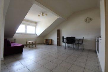 Immomod S.A. vous propose un appartement à Esch (place Benelux).  D'ABBORD IL FAUT ENVOYER VOTRE DOSSIER  1) CDI 2) 3 FICHES DE SALAIRES 3) CARTE D'IDENTITE  L'appartement se compose de 2 ch. à c., cuisine équipée ouverte sur le salon et salle de douche.  Il se trouve au 4ième étage sans l'ascenseur.  Une cave est à votre disposition.  Loyer : 1000 + 150 = 1150 €  Caution : 2000 €  Frais de l'agence : 1150 €  Disponible de suite.  Veuillez nous envoyer votre dossier au stas.immomod@gmail.com  Les visites sont organisées seulement après l'acceptation de votre dossier !!!  Pour tous autres questions, nous sommes joignables au 691 92 54 85