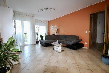 RE/MAX Partners Plus, spécialiste de l'immobilier à Niederkorn, vous propose en exclusivité ce joli appartement moderne et lumineux de 2 chambres de 2006, dans une résidence soignée et une rue ultra-résidentielle. Il dispose d'une superficie habitable d'environ 75 m². De très beaux volumes s'offrent à vous, et se compose comme suit :  - D'un vaste hall d'entrée avec placards intégrés, - D'une cuisine équipée fonctionnelle et indépendante (full électroménager),  - D'un spacieux living lumineux donnant accès sur la terrasse avec vue dégagée, - Deux chambres à coucher, - D'une salle de douche, WC et buanderie privative, - D'un WC séparé - D'une cave privative, - Un parking intérieur privatif avec porte automatique télécommandée, - Une buanderie (séchoir) commune, et un local poubelle complètent cet appartement.  Extérieur : emplacements destinés aux occupants devant la résidence.  Très bel appartement, soigné, lumineux, fonctionnel, porte d'entrée de sécurité, visiophone, volets électriques.  Proche de toutes commodités : parking au pied de l'immeuble, bus, station essence, crèche à 2 min à pieds, écoles, centre-ville, surface commerciale CACTUS Bascharage à 5 min en voiture, banques,, etcà.  A visiterà.  Disponibilité à convenir.  CONTACT : MICHAEL CHARLON au 621 612 887 ou par Mail : michael.charlon@remax.lu Ref agence :5096006
