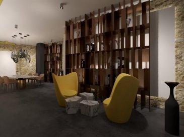 Immomod S.A. a le plaisir de vous proposer c'est charmant appartement à Luxembourg-Grund.  L'appartement se trouve au rez-de-chaussée dans une résidence à 4 unités.  Prix affiché pour les gros-oeuvres brut.  Peut être utiliser comme bureau.  La place idéal pour une profession libérale.  Il se compose d'une chambre à coucher voir deux.  Livraison : été 2020  Prix affiché avec la HTVA.  N'hésitez pas à nous contacter pour les détails supplémentaires au 691 92 54 85 ou 27 99 09 53.