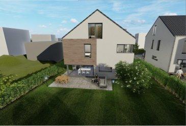 CITRA Immobilière vous présente ce nouveau projet d'une maison jumelée libre de 3 côtés sur un beau terrain plat, avec une belle vue dégagée, dans le village de Nocher, à 7 km de Wiltz et 5 de Kautenbach (CFL Ligne 10 directe vers Luxembourg).  La maison libre de 4 côtés se veut