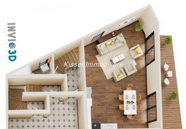 Alexandre Kissel et Kissel Immobilière vous propose à la vente à Syren<br><br>Un appartement « Duplex » neuf de ± 97.78 m² avec 2 chambres.<br>Remise des clés prévue Fin 2020<br><br>Il se compose comme suit :<br>(l\'agencement intérieur peut encore être modifié)<br><br>Au rez-de-chaussée :<br> <br>- Hall d\'entrée 5.72 m²<br>- Espace Séjour Cuisine 44.31 m²<br>- Terrasse de 28.92 m² <br>- WC séparé<br><br>Au 1er étage : <br><br>- Chambre 1 de 13 m² <br>- Chambre 2 de 16 m² <br>- Salle de bain/douche et WC de 9 m²<br>- Débarras / Buanderie<br><br>Au sous-sol<br><br>- 2 emplacements de parking<br>- 1 Cave<br><br>Prix avec TVA à 17% - \' 699.000<br>Prix avec TVA à 3% - \' 649.000 (après acceptation de l\'Administration de l\'enregistrement)<br><br>L\'agence KISSEL Immobilière vous propose des objets sélectionnés, pour répondre à la demande de notre clientèle.<br>Estimation gratuite de votre bien et cela sans engagement.<br><br>Contacter Mr Kissel Alexandre 27621235<br><br><br />Ref agence :4680053