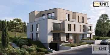 RM Unit vous propose à la vente un nouveau projet résidentiel idéalement situé à Heisdorf dans la commune de Steinsel  La résidence se compose de 10 appartements de 1 à 3 chambres avec une superficie approximative entre 60m² et 125m².  Tous les appartements disposeront d'une cave privative.  Possibilité d?acquérir un emplacement intérieur pour 45.000 € HTVA  Un arrêt de bus direction Luxembourg-Ville ainsi que la gare de Walferdange se trouvent à  /- 500m Crèche à  /- 400m École fondamental à  /- 1km École secondaire à  /- 4km  Les prix indiqués comprennent la TVA 3% (sous réserve de l'acceptation du dossier par l'Administration de l'Enregistrement et des domaines).  Pour toutes informations complémentaires, veuillez contacter l'agence au n° de tél : 00352 661 333 603 ou via email à : info@rmunit.lu Ref agence :B204
