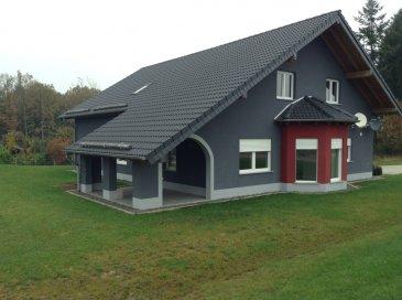 260 sqm Bungalow for rent in 54597 Schlossheck, Odenkopf 1a   Price: 1.700€ plus utilities   2 x bedrooms, (basement)  1 x galarie with bedroom (1st floor),  1 x master bathroom with shower & tub,  1 x bathroom with shower,  1 x walk'in toilet,  1 x huge living room, with a wood stove,  1 x buildin kitchen open plan with dining room,  1 x terrace,  1 x carport,  2 x parking lots.   -high speed internet,  -25 min roadway from SPAB,  -pets negotiable.  Utilities:  - 45 € monthly payment for water/waste-water/ garbage per person, annual invoice,  - Household-Electricity: own contract with local provider,  - Heat gas: own contract with local provider,  - Phone/Internet: own contract with local provider.   The property is listed and approved by US Housing Office/SPAB. When you have any questions, or you like to view the property, please contact me any time.    Have a great day!  Alle Angaben und Informationen beziehen sich auf die Angaben des Eigentümers und den örtlichen Gegebenheiten vor Ort am Standort des zu verpachtenden Objektes. Daher übernimmt das beauftragte Unternehmen keine Gewähr für Angaben und Informationen die diese Annouce beinhaltet. Sobald ein Interessent eine Anfrage in Bezug auf das Objekt anfordert einerlei, ob elektronisch, oder telefonisch, erklärt sich der Anfragende mit den Richtlinien der EU-GS-DVO und den AGB's des beauftragten Unternehmens einverstanden.  Geschäftsführung UKA-Immobilien