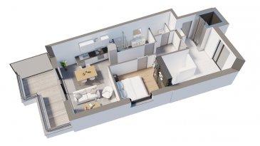 Efapromo vous propose une résidence de 8 unités, libre de 4 côtés à Niederkorn . Parce qu'il vaut mieux un petit chez soi qu'un grand chez les autres. Venez découvrir ce magnifique Penthouse situé au 3ème et dernier étage. Une très belle vue vous accompagnera chaque matin au réveille. 55 m² de surface utile, une terrasse de 10m² pour vos repas en extérieur . Cave : privé  buanderie collectif : oui  ascenseur : oui Pour plus d'informations, contactez Emmanuel : 691 355 050  mail : manuefapromo@gmail.com