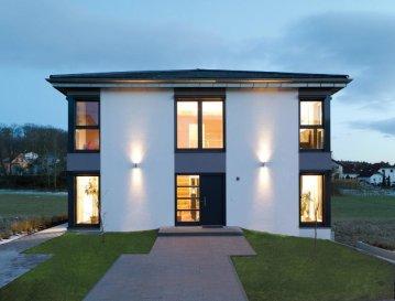 Energiespar-Haus Hamburg  Wohnfläche: 165m²  Hausgröße:  11,58m  x  10,58m    WICHTIG: Das abgebildete Haus ist ein Planungsbeispiel. Abweichungen können sich ergeben