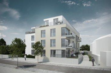 Appartement n.1.2 à vendre dans une nouvelle résidence (future construction, 11 appartements au total) sise dans la Vallée de la Pétrusse.  79, rue de la Vallée, L-2661 Luxembourg. Un appartement très agréable situé au 1er étage. Ce bien se compose d'un hall d'entrée, d'un living avec grandes portes vitrées donnant sur un balcon, d'une salle à manger avec cuisine ouverte, 2 chambres à coucher, d'une salle de bain (double-lavabo, douche, baignoire et WC), d'une suite parentale avec sa salle de bain (double-lavabo, douche, baignoire et WC) et d'un WC séparé. Il dispose d'une cave privative et d'un emplacement machine à laver/séchoir dans la buanderie commune. Un emplacement intérieur pour 1 voiture est disponible en supplément (50.000 €). L'immeuble dispose de finitions de très haute qualité (parquet dans la chambre à coucher, carrelage de très haut niveau dans le hall, la salle de bains et le WC séparé, carrelage ou parquet dans le living au choix de l'acquéreur).  Le prix affiché s'entend avec le taux de TVA super-réduit de 3% (en cas d'affectation du bien à des fins d'habitation principale) sous réserve d'acceptation du dossier par l'Administration de l'Enregistrement et des Domaines. Les indications de surface sont données sous réserve et pourraient varier après mesurage exact du terrain et suivant les autorisations de la Ville de Luxembourg.