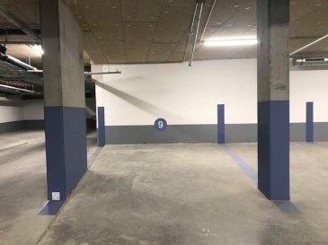 * DISPONIBLE DE SUITE *  PARKING INTERIEUR  (sous-sol -1)  sis  « Quartier-Gare » dans  Résidence neuve  « SOHO LONDON  »   (adresse 2 rue de Chiny / 61 rue de Strasbourg)       Ref agence :1723073