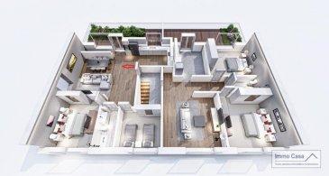 <br>Résidence à 4 unités à Nospelt<br>ImmoCasa vous propose en exclusivité une nouvelle résidence de 4 unités au centre de Nospelt<br><br>La résidence comprend 4 appartements de 74.40 à 100m2.<br>2 Parkings intérieurs au prix de 25.000eur. (En supplément)<br>2 Parkings intérieurs au prix de 35.000eur. (En supplément)<br>4 parkings extérieurs au prix de 15.000eur. (En supplément)<br>4 Caves inclues dans le prix de vente. Local vélos/poussettes en commun.<br><br>Ici vous trouvez l\'Appartement/Duplex au premier étage côté gauche de 100,97m2 habitables. Vous disposez de 3 chambres, d\'un hall d\'entrée, living lumineux salle de bains/douche, cuisine ouverte non fournie, chambre de 12m2/9.5m2. Spacieuse terrasse de 26m2, accès direct au rez-de-chaussée dans laquelle vous trouvez une pièce de 23m2 pouvant servir de 3ème chambre à coucher ou bureau avec dressing ou autre suivant vous besoins.<br>Jardin privatif de +-65 m2<br>Ce projet est une Rénovation/Modification.<br>Nouvelle électricité. <br>Nouvelle chauffage.<br>Nouvelle Toiture. <br>Nouvelles dalles, etc.<br>Matériaux de haut qualité au choix pour les finissions.<br>Pour plus d\'informations et pour les plans, n\'hésitez pas à nous contacter.<br><br>N?hésitez pas à nous contacter pour vendre votre bien.<br>Nos estimations sont gratuites.<br><br>Nous recherchons en permanence pour la vente et pour la location des appartements, maisons, terrains à bâtir et projets autorisés pour clientèle existante.<br>Achat éventuel par notre société.<br><br><br>