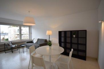 Situé Rue du Couvent à Howald, dans une zone résidentielle calme tout en étant proche de Luxembourg-ville, au 2ème étage d'une copropriété soignée de 6 unités avec ascenseur, construite en 1971, cet appartement 1 chambre dispose d'une surface habitable de ± 55 m².  Il se compose comme suit :  La porte d'entrée s'ouvre sur le hall d'entrée ± 5 m² (avec vestiaire encastré) qui dessert  un spacieux séjour ± 21 m² orienté nord-ouest, la cuisine séparée et équipée ± 8 m² avec accès au balcon ± 2 m², une salle de bains ± 4 m² ainsi qu'une chambre de ± 14m².   Une cave privative ± 4 m², ainsi qu'une buanderie commune situées au rez-de-chaussée complètent l'offre.   Généralités :   • Appartement et copropriété en très bon état, • Appartement meublé si désiré ; • Double vitrage ; • Chauffage au gaz ; • Volets électriques ; • Libre de suite ; • Environnement calme (zone 30km/h) ; • Situation idéale : proche de Luxembourg-ville (2,5 km), des accès autoroutiers et de toutes commodités (gare, futur tram, transports publics, commerces, écoles, restaurants …).   Agent responsable : Florian Apolinario Mobile : +352 691 110 397 E-mail : florian@vanmaurits.lu