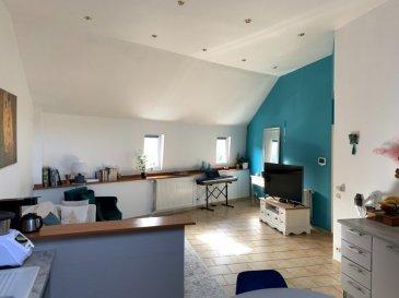Dans une petite copropriété totalement rénovée intérieur et extérieur, composée de 2 lots : syndic bénévole : pour les 2 lots : T. Foncière 1517 €/an (pour les deux appartements réunis)  et assurance de l'immeuble : 535 €/an  - 2ème étage : APPARTEMENT de 85 m² entièrement carrelé et rénové ;  ainsi composé :  Entrée, 1 CHAMBRE, dégagement donnant sur SALON-SEJOUR ouvert sur la CUISINE équipée (grande hauteur sous plafond) couloir W-C indépendant, buanderie, 2ème  grande CHAMBRE, SALLE de BAINS avec baignoire.  Pourvu d'un système de chauffage au gaz (90 €/mois + électricité : 35€/mois ) domotique pour l'éclairage, le chauffage les communs entièrement rénovés avec chauffage électrique, toiture en très bon état, façade refaite, Interphone avec caméra et ouverture à distance. Aucun travaux à prévoir ! + 1 CAVE commune de 80 m².  Contact : Emmanuel COLSON  07.81.30.24.02