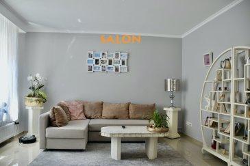 L'agence IMMOLORENA de Pétange a choisi pour vous cette GRANDE MAISON AVEC 5 CHAMBRES de 245 m2 habitables insérée sur un terrain de 1,40 ares située à Differdange à proximité des commerces, transports en commun et toutes commodités. La maison se compose comme suit : Rez-de-chaussée : - Hall d'entrée 12,20 m2. - Salon de 18 m2 - Cuisine séparée toute équipée de 20 m2 donnant accès à la terrasse de 13 m2 et au jardin arboré de 52 m2. - WC séparé de 1,84 m2.  Premier étage : - Un hall de nuit faisant 4,96 m2 - Grande chambre de 18 m2 avec un dressing de 5,63 m2 - Deuxième chambre de 11 m2. - Salle de bain avec baignoire et douche de 9 m2.  Deuxième étage : - Un hall de nuit faisant 4,96 m2 - Troisième chambre de 18 m2 avec un dressing de 5,63 m2 - Quatrième chambre de 11 m2 - Cinquième chambre de 10 m2  TROISIÈME ÉTAGE: - Magnifique chambre parentale de 42 m2 avec dressing et mezzanine - Salle de douche privative de 8 m2  Sous-sol :  - Grande cave de 32,72 m2.  TOTAL M2 HABITABLES : 245 m2   A VOIR ABSOLUMENT!!!!   Pas de frais d'agence pour le futur acquéreur  Pour tout contact et plus de renseignant veuillez contacter l'agence Immo Lorena Lux Sarl: Numéro de l'agence: +352 50 93 32 Joanna RICKAL: +352 621 36 56 40 Vitor PIRES: +352 691 761 110  L'agence ImmoLorena est à votre disposition pour toutes vos recherches ainsi que pour vos transactions LOCATIONS ET VENTES au Luxembourg, en France et en Belgique. Nous sommes également ouverts les samedis de 10h à 19h sans interruption.