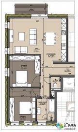 RESTE 3 APPARTEMENTS    DEBUT DES TRAVAUX 2Q   FUTURE CONSTRUCTION :la Résidence KALMIA à Hupperdange se compose : <br>de 6 appartements de haut standing.<br><br>- l\'appartement 3 (2chambres) d\'une surface habitable de 83,04m2 avec un balcon: Prix 291.600.- (TTC 3%)<br>Le parking intérieur, la cave et l\'emplacement extérieur sont au Prix de 30.000.- (TTC 3%)<br>Prix TVA 17% pour investisseur : 352.400.-<br><br>Au 1er étage :<br>******RESERVE*****- l\'appartement 1 (2chambres) d\'une surface habitable de 83,04m2 avec un balcon: Prix 291.600.- (TTC 3%)<br>Le parking intérieur, la cave et l\'emplacement extérieur sont au Prix de 30.000.- (TTC 3%)<br>Prix TVA 17% pour investisseur : 352.400.-<br><br>l\'appartement 2 (2chambres) d\'une surface habitable de 83,03m2 avec un balcon: Prix 291.600.- (TTC 3%)<br>Le parking intérieur, la cave et l\'emplacement extérieur sont au Prix de 30.000.- (TTC 3%)<br>Prix TVA 17% pour investisseur : 352.400.-<br><br>Au 2ème étage :<br>- l\'appartement 3 (2chambres) d\'une surface habitable de 83,04m2 avec un balcon: Prix 291.600.- (TTC 3%)<br>Le parking intérieur, la cave et l\'emplacement extérieur sont au Prix de 30.000.- (TTC 3%)<br>Prix TVA 17% pour investisseur : 352.400.-<br><br>- l\'appartement 4 (2chambres) d\'une surface habitable de 83,40m2 avec un balcon: Prix 291.600.- (TTC 3%)<br>Le parking intérieur, la cave et l\'emplacement extérieur sont au Prix de 30.000.- (TTC 3%)<br>Prix TVA 17% pour investisseur : 352.400.-<br><br>Au 3ème étage combles:<br>l\'appartement 5 d\'une surface habitable de 64,93m2 (81,46m2 surface au sol), 1ch , bureau, avec un balcon et un grenier 17,95m2:  Prix 230.400.- (TTC 3%)<br>Le parking intérieur, la cave et l\'emplacement extérieur sont au Prix de 30.000.- (TTC 3%)<br>Prix TVA 17% pour investisseur : 285.600.-<br><br>******RESERVE*****- l\'appartement 6 d\'une surface habitable de 64,65m2 (85,48m2 surface au sol), 1ch , dressing, avec un balcon  et un grenier 17,23m2: Prix 230.400.- (TTC 3%)<br