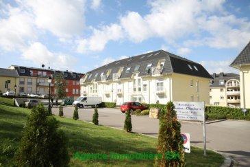 Alzingen - Hesperange Appartement 2 chambres, Living, Balcon, Cuisine, Salle de Bains, Wc séparé, Débarras, Cave et 1 Garage et 1 parking extérieur. Disponible le 01/04/2017. Ref agence :916662