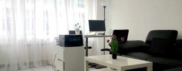 Bel appartement meublé situé dans une résidence au centre de Luxembourg. Proche de toutes commodités.