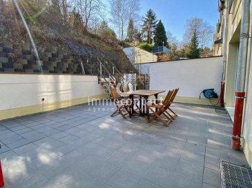 ENGLISH DESCRIPTION BELOW  Charmante maison de 2014 située au calme à Schengen, à 35 minutes du Kirchberg et proche des frontières.  Terrain de 2.92 ares avec 155m2 de surface habitables, se composant comme suit:  *Rdch: - hall d'entrée - chambre ou bureau - salle de douche - débarras - cave avec chaufferie - garage  * A l'étage: - cuisine équipée individuelle donnant accès à la terrasse orientée Sud/Est - séjour de +/-30m2 avec lumière traversante - bureau ou chambre - Wc séparé  * Dernier étage: - 2 chambres à coucher  - 1 chambre parentale avec salle de douche - Salle de bain avec fenêtre.  A savoir:  - chauffage, pompe à chaleur, panneaux solaires - triple vitrage avec volets électriques - récente terrasse bétonnée de +/-35m2 - disponible en Septembre 2021  Très bonne situation, proche arrêt de bus et école à quelques kilomètres.  Visite possible le soir et les week-ends.  Si vous souhaitez estimer votre bien n'hésitez pas à nous contacter au 26.311.992 ou sur info@immocontact.lu<br />ENGLISH DESCRIPTION  Charming house from 2014 located in a quiet area in Schengen, 35 minutes from Kirchberg and close to the borders.  Land of 2.92 ares with 155m2 of living space, composed as follows:  *Rdch: - entrance hall - bedroom or office - shower room - storage room - cellar with boiler room - garage  * On the first floor: - individual equipped kitchen giving access to the terrace facing South/East - living room of +/-30m2 with crossing light - office or bedroom - separate toilet  * Top floor: - 2 bedrooms  - 1 master bedroom with shower room - Bathroom with window.  To know:  - heating, heat pump, solar panels - triple glazing with electric shutters - recent concrete terrace of +/-35m2 - available in September 2021  Very good situation, near bus stop and school at a few kilometers.  Possible visit in the evening and on weekends.  If you wish to estimate your property do not hesitate to contact us at 26.311.992 or on info@immocontact.lu