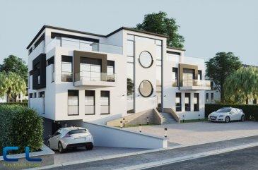 CL immobilière vous propose un projet en état futur d\'achèvement à Pontpierre, construction traditionnelle  avec des finitions de  haute qualité.<br><br>Un appartement au premier étage d\'une surface habitable de /-104.58 m² au prix de 749 000\' (3% TVA).<br><br>Appartement  n° 3  au 1er étage comprenant,<br>Un hall d\'entrée<br>Une cuisine ouverte sur le living <br>2 chambres à coucher<br>Une penderie <br>Une salle de douche<br>Une salle de bain<br>Un WC séparé<br>Une terrasse de 11.52 m2 <br>Une cave privative<br>Local de  poubelle en commun<br><br>Compris dans le prix un emplacement intérieur et un emplacement extérieur.<br><br>Possibilité de modifier le plan d\' intérieur<br>Plans disponibles sur demande<br>Classe énergétique AB<br><br>Petite copropriété de 6 appartements dans une résidence située au calme avec une vue dégagée et agréable, tout en restant à proximité des voies routières s et autoroutières.  <br><br><br />Ref agence :PMGF19_3
