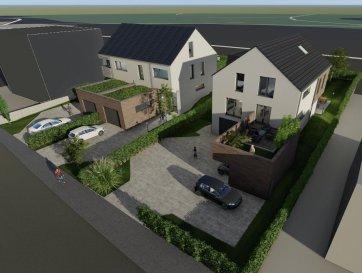 ABC Property vous propose une maison bi-familiale, soit deux duplex (seul le 9B reste à vendre) dans le village de Nocher, libre de 3 côtés, ouverte sur un jardin avec vue sur la campagne.  Située à 7 km de Wiltz,  5 km de Kautenbach et à 25km de Bastogne  (B) et Ettelbruck , cette maison sont facilement accessibles par la N4 et la N25 / E411 belges et A7 luxembourgeoise.  Le duplex se compose comme suit :  Rez de chaussée   2 étages comprenant : 3 chambres dont 1 petite de 8,5 m2 1 salle de bain et 1 salle de douche 2 emplacements sous car-port 1 emplacement extérieur   Ref agence :71