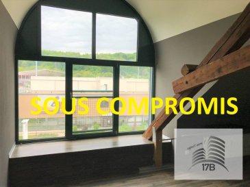 ***** SOUS COMPROMIS *****  Appartement avec une surface habitable d'environ 110m2, situé au 3ième étage (sans ascenseur) et composé comme suit:  A l'étage : Hall d'entrée, cuisine équipée ouverte sur salle à manger/salon, débarras avec raccords pour le lave-linge, WC d'hôtes, salle de bain, quatres chambres à coucher.  La résidence se situe proche du centre d'Obercorn et des commerces. Bonne connexion au réseau des transports en public.  Pour tous renseignements supplémentaires ou pour convenir un rendez-vous pour une visite, veuillez nous contacter au (+352) 691 400 706 ou par email : info@17b.lu
