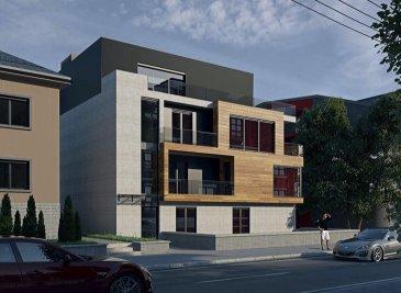 APPARTEMENT NEUF, 1 CHAMBRE  Bel appartement dans une résidence à 5 unités, situé dans une rue très calme, offrant des prestations de très haut standing, une architecture moderne, situé au 1' étage avec une surface habitable d'environ 53m2 + un balcon de 18m2. (surface utilisable: 71m2)  L'appartement se compose d'une hall d'entrée, living très lumineux avec une cuisine ouverte (+/-25.03m2), avec accès sur le balcon (+/-7.40m2), une chambre à coucher, une salle de douche / bain et une cave.  Caractéristiques: Classe énergétique AAA, Fenêtres triple vitrage, volets électriques, VMC double-flux, isolation phonique, chauffage au sol, carrelages et/ou parquet, sanitaire et autres finitions sont au choix du client. Transport publics : Arrêt de bus à moins d'1min, Accès autoroute A13: +/- 3km / 5min Disponibilité : 2 semestre 2021.  Emplacement de parking intérieur en supplément à partir de 25'000 €.  Les prix annoncés comprennent la TVA 3%.  Pour toutes autres informations, n'hésitez pas à nous contacter ! E-Mail : info@fn-promotion.lu GSM : +352 621 139 988  ------ NEUE WOHNUNG MIT 1. SCHLAFZIMMER  Schöne, kompakte Wohnung in einer Residenz von 5 Einheiten, auf dem 1. Stockwerk, in einer sehr ruhigen Straße liegend. Angeboten wird ein sehr hoher Standard und eine moderne Architektur, mit einer Wohnfläche von +/-53m2, und zusätzlich ein großer Balkon von über +/-18m2. (nutzbare Fläche: 71m2)  Die Wohnung setzt sich folgend zusammen: Geräumiges Wohnzimmer mit offener Küche und Zugang zum Balkon (+/-18.56m2), ein Schlafzimmer, sowie auch ein Badezimmer und ein Keller.  Charakteristiken: Energieklasse AAA, Dreifachverglasung, elektrische Rollläden, mechanische Ventilation (VMC double-flux), Schallschutz, Fußbodenheizung, Fliesen und / oder Parkett, Sanitär und andere Finitionen sind ebenfalls nach Wahl des Kunden! Öffentliche Verkehrsmittel: Busstation weniger als 1 Minute entfernt. Autobahnanschluss A13: +/-3km / 5min Verfügbarkeit: 2 Semester 2021  Ein Garagenstellplatz i