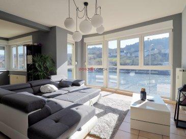 Bel appartement meublé à louer sis à Wormeldange à côté de la Moselle.<br><br>Wormeldange se trouve à +/-20 min de Luxembourg-Ville.<br><br> Description :<br><br>- 1 étage<br>- 88m2<br>- Hall d\'entrée<br>- Salon avec vue sur la Moselle<br>- Salle de fitness ouverte sur la salon <br>- Cuisine individuelle avec balcon <br>- Salle de bain <br>- 2 chambres à coucher (16m2&13m2) <br>- 1 emplacement extérieur <br>- Meublé<br>- Non-fumeur<br><br>L\'appartement est disponible pour le 01.04.2021<br><br>Loyer : 1500€<br>Charges : 200€<br>Caution : 3000€<br>Frais d\'agence : 1755€ TTC 17%<br /><br />Beautiful furnished apartment for rent located in Wormeldange near the Moselle.<br><br>Wormeldange is located +/- 20 minutes from Luxembourg-City.<br><br> Description:<br><br>- 1 floor<br>- 88m2<br>- Entrance hall<br>- Living room with a view of the Moselle<br>- Fitness room open to the living room<br>- Individual kitchen with balcony<br>- Bathroom<br>- 2 bedrooms (16m2 & 13m2)<br>- 1 outdoor location<br>- Furniture<br>- Non-smoker<br><br>The apartment is available for 01.04.2021<br><br>Rent: 1500 €<br>Charges: 200 €<br>Deposit: 3000 €<br>Agency fees: 1755€ including 17% tax