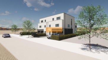 Nouveau projet d\'un duplex (lot1 R+1) avec son propre jardin en VEFA au sein d\'une maison bifamiliale qui sera construite dans la rue de Dippach à Bertrange.<br><br>Chaque duplex dans le bâtiment dispose de son entrée privative ainsi que de son propre garage. La seule partie commune sera la chaufferie.<br><br>Le duplex dispose de :<br> Rez-de-chaussée :<br>- Hall d\'entrée<br>- Living avec cuisine ouverte donnant accès à la terrasse de 16,15m2 et au jardin privatif<br>- WC séparé<br>- Garage fermé avec accès directe dans le duplex<br><br>Au 1° étage:<br>-Palier<br>- 3 chambres à coucher <br>- Salle de bain<br><br>Au sous-sol: cave privatif/buanderie<br><br>Prix affiché avec 3% de TVA<br><br>La rue de Dippach est un rue calme de Bertrange à proximité du centre du Village<br>