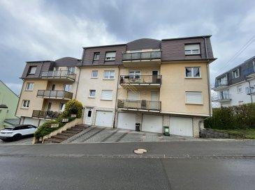 Real G Immo vous présente en exclusivité ce charmant appartement situé dans une rue calme de Dudelange.<br><br>Ce bien de +/- de 52m2 se compose comme suit :<br>un Hall d\'entrée,<br>une salle de douche,<br>une chambre à coucher,<br>une cuisine indépendante,<br>un living/salle à manger donnant accès à un balcon.<br><br>À ce bien s\'ajoute une cave privative, une buanderie commune ainsi qu\'un garage box.<br><br>!!! Informations complémentaires !!!<br>Année de construction: 1992<br>Double vitrage<br>Chaudière: 2012<br><br>Pour plus de renseignements ou une visite (visites également possibles le samedi sur rdv), veuillez contacter le 28.66.39.1.<br><br>Les prix s\'entendent frais d\'agence de 3 % TVA 17 % inclus.