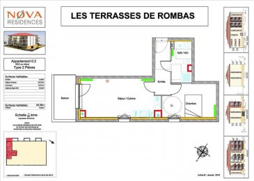 Appartement Rombas