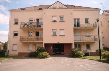 appartement en résidence sécurisée de type 2.  appartement de 46.9 m2 avec place de parking