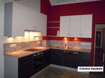Agréable appartement à louer dans le village de Wahl.  L'appartement se compose comme suit: - séjour avec coin cuisine équipée - salle à manger avec sortie sur petit balcon - salle de douche avec connexion lave-linge - 1 chambre à coucher.