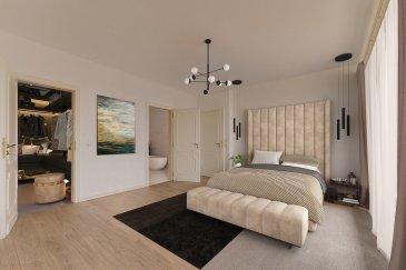 Nous avons le plaisir de vous proposer à la vente un appartement traversant en plein c½ur de Luxembourg-Kirchberg.<br><br>Très lumineux avec ses ouvertures vitrées, doté de vues imprenables sur la Ville Haute de Luxembourg et sur la Vallée de Dommeldange, l\'appartement offre de grands espaces de vie distribués sur 147m2 habitables.<br><br>Déjà en excellentes conditions d\'habitation, l\'appartement s\'adapte aussi au design contemporain, comme le montrent les photos du dossier (photos non contractuelles) qui vous permettront de l\'apprécier davantage dans sa dimension de ?maison de rêve?.<br><br>Il se compose de :<br>-Un grand hall d\'entrée central desservant les espaces de vie ;<br>-Une cuisine ouverte sur la salle à manger avec sortie sur un des balcons exposés sud-ouest ;<br>-Un salon spacieux ;<br>-Deux grandes chambres à coucher, dont une avec possibilité de suite parentale (dressing et salle de bain), et l\'autre avec salle de douche intégrée (les deux avec WC) ;<br>-Un bureau (ou une pièce aménageable à votre gré) ;<br>-Une toilette d\'agrément, une buanderie, un vestiaire ;<br><br>Annexes : une grande cave et un emplacement de parking intérieur à 50.000 Euros (possibilité d\'acheter jusqu\'à deux emplacements supplémentaires au besoin).<br><br>Prestations accessoires : porte d\'entrée sécurisée/blindée, vidéophonie, double vitrage, volets électriques, sols refaits à neuf dans les chambres et le bureau.<br><br>Pour plus de renseignements, veuillez contacter l\'agence.<br /><br />Wir freuen uns, Ihnen eine Wohnung im Herzen von Luxemburg-Kirchberg zum Verkauf anzubieten.<br><br>Sehr hell mit glasierten Öffnungen, mit atemberaubenden Ausblicken auf die Haute Ville de Luxembourg und das Tal Dommeldange, bietet die Wohnung große, verteilte Wohnräume auf 147m2 wohnlich.<br><br>Die Wohnung ist bereits in ausgezeichneten Wohnverhältnissen und passt sich auch dem zeitgenössischen Design an, wie die Fotos in der Akte zeigen (nicht vertragliche Fotos), die es Ihnen e
